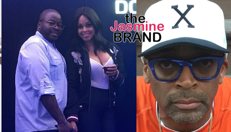 Chrisette Michele's Fiance Calls Out Spike Lee: F*#k you!