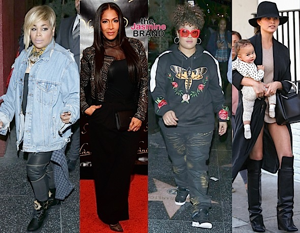 Nicole Scherzinger, T-Boz, Sheree Whitfield, Da Brat & Chrissy Teigen