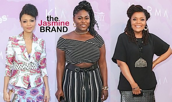 Marsai Martin, Miles Brown, Thandie Newton, Danielle Brooks, Yvette Nicole Brown [Celebrity Stalking]