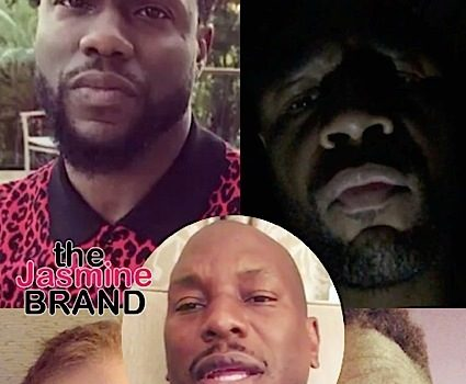 Tyrese Wants Kevin Hart & Famous Friends To Stop #TyreseChallenge [VIDEO]