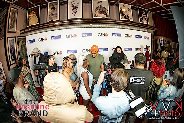 DJ Quik, Masika Kalysha, Porscha Coleman Spotted At AMAZON's FireTV
