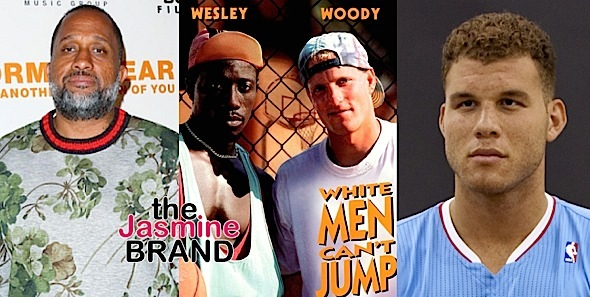 NBA's Blake Griffin & Kenya Barris Developing 'White Men Can't Jump' Remake