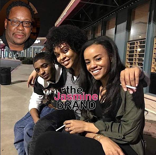 (EXCLUSIVE) Bobby Brown PISSED At Bobbi Kristina Biopic, Demetria McKinney Spotted Filming [Photos]