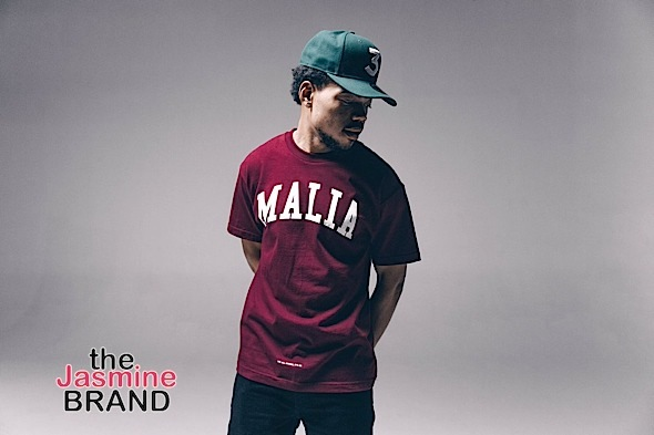 Chance The Rapper Pays Homage to Malia Obama Allegedly Smoking Weed In Fashion Line [Photos]