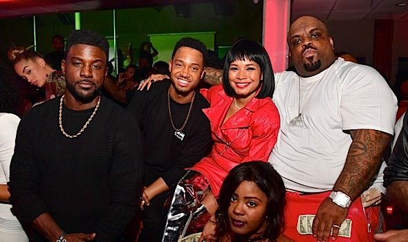 French Montana, T.I., Lira Galore, CeeLo Green, Lance Gross Party in Houston