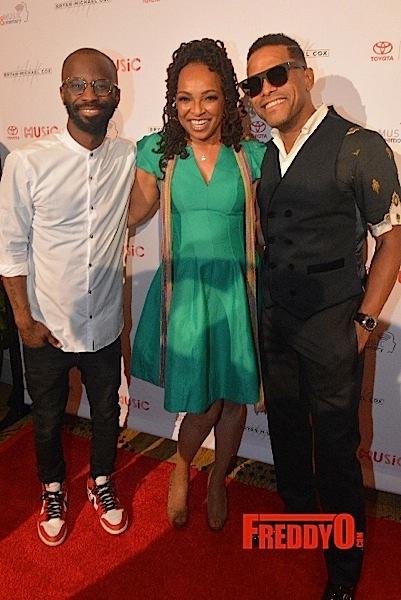 "Bryan-Michael Cox Hosts 13th Annual ""The Breakfast Club"": Siedah Garrett & Maxwell Honored"