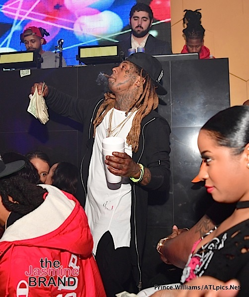 DJ Khaled, Toya Wright, Lil Wayne, Wale, Monyetta Shaw Hit Mercy Club