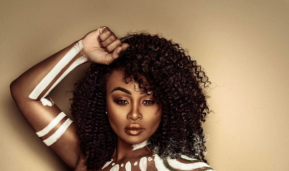 Nips Out! Blac Chyna Goes Topless For New Shoot [Photos]