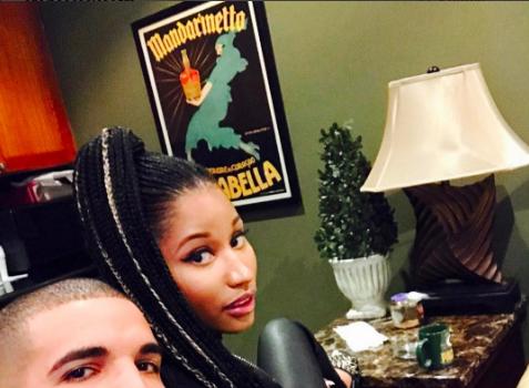 Drake & Nicki Minaj Officially Reunite [Photos]