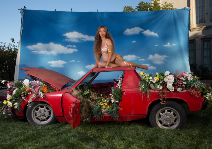 Beyonce Shares Stunning Maternity Shoot, Reflects On Daughter Blue Ivy