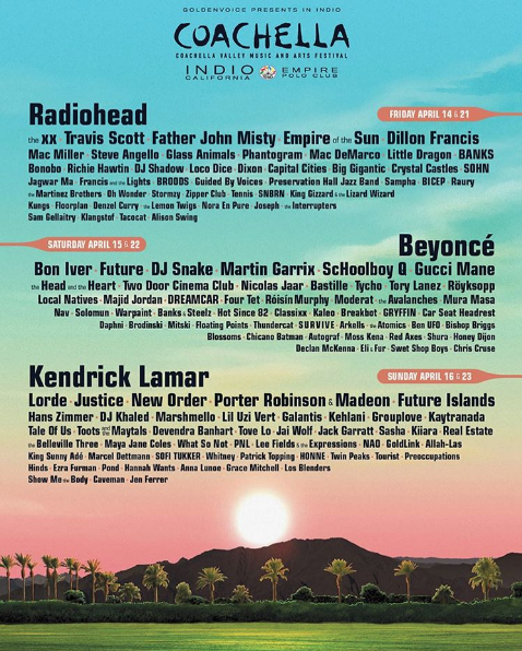 Coachella Blindsided By Beyonce's Pregnancy News
