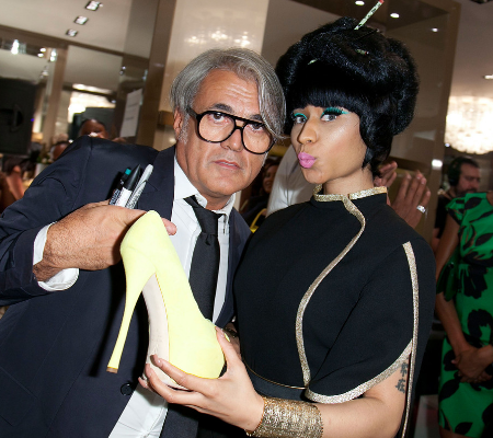 Nicki Minaj Calls Designer Giuseppe Racist: You owe me a check!