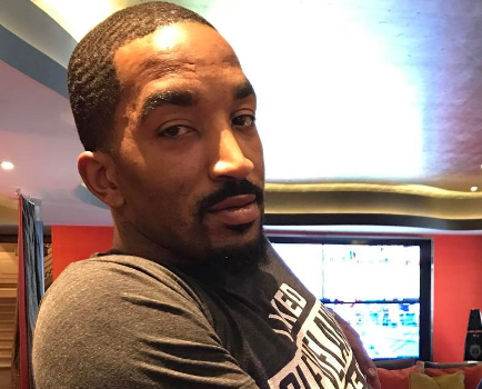 NBA's JR Smith Holds Premature Daughter For First Time