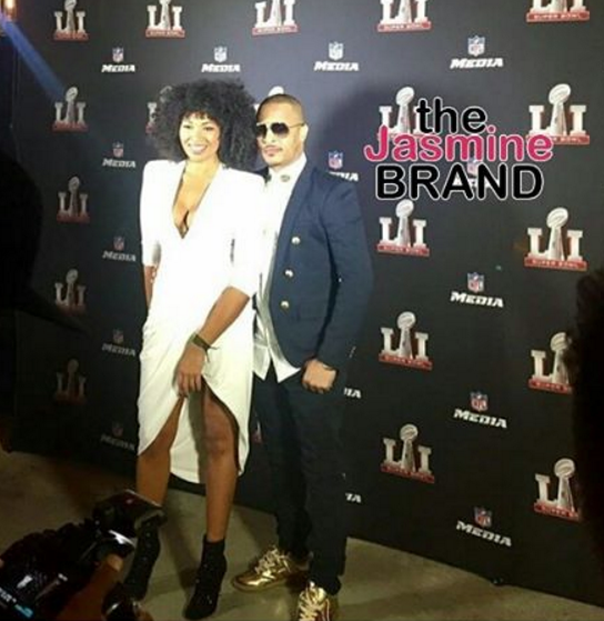 T.I. Says This Woman Is NOT His Side-Chick!