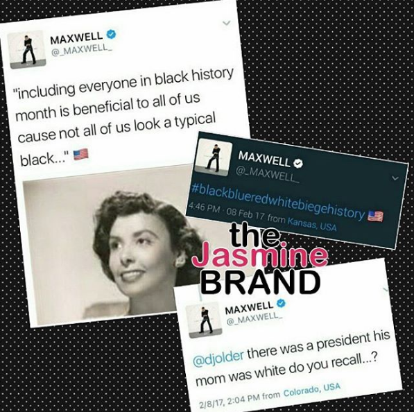 Maxwell: Everyone Should Be Included During Black History Month!