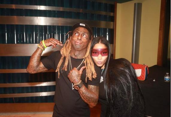 Chance the Rapper Spotted With Lauryn Hill, Blac Chyna Goes Gray + Nicki Minaj & Lil Wayne