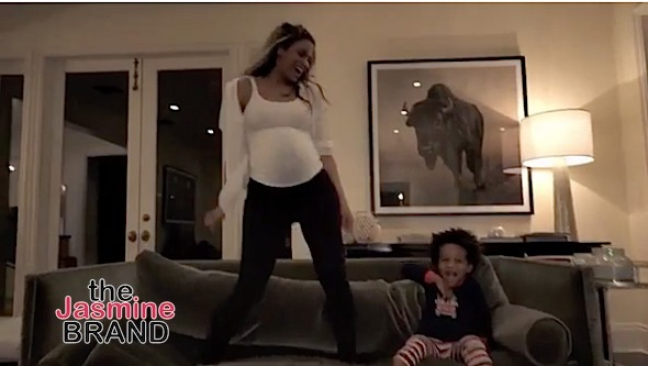 "Russell Wilson & Baby Future Co-Star In Ciara's ""I'm Every Woman"" Video"