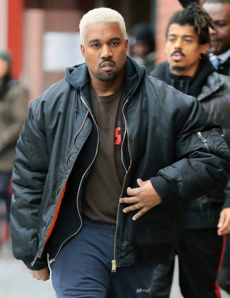 BlondeYe Is Back! Kanye West's New Hair Spotted in NYC