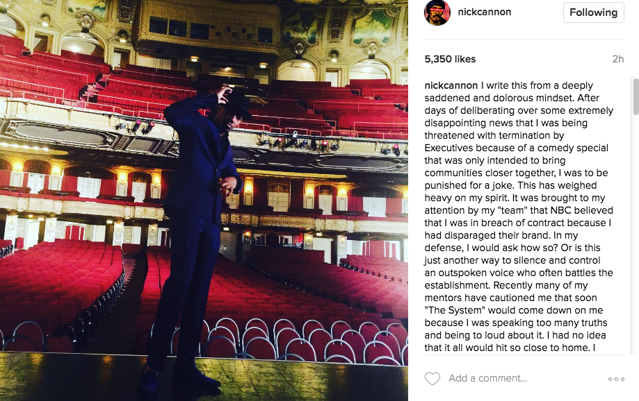 Nick Cannon Fires Manager & Publicist, Insiders Concerned For Mental Health
