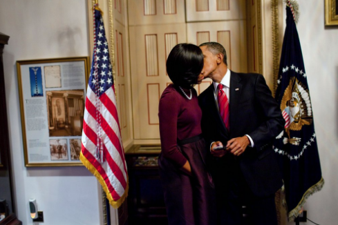 Barack & Michelle Obama Share Sweet Valentine's Message