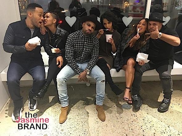 Kobe & Vanessa Bryant, Mariah Carey & Bryan Tanaka, DJ Khaled & Fiance, Kelly Rowland & Hubby Tim [Valentine's Day Flix]