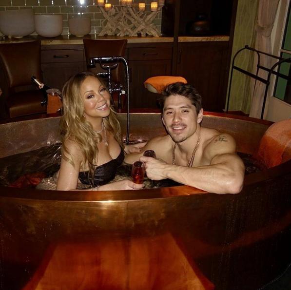 (EXCLUSIVE) Mariah Carey & Dancer Boyfriend Shut Down Entire Spa For 2 Nights