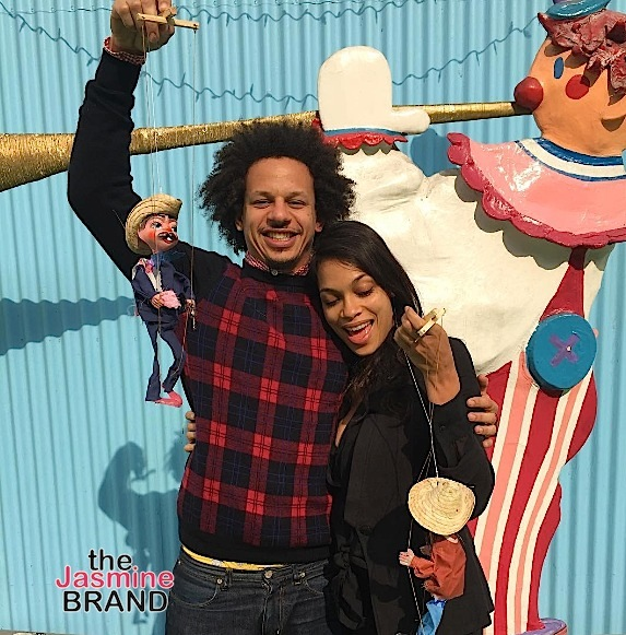 Rosario Dawson Dating Comedian Eric Andre [Photos]