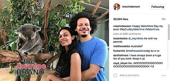 Rosario Dawson Dating Comedian Eric Andre [Photos]