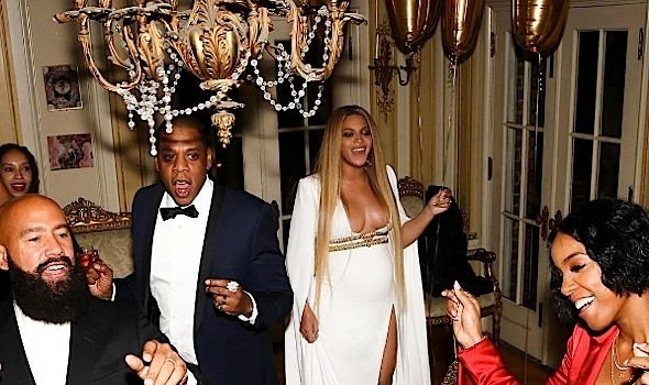 Beyonce, Jay Z & Kelly Rowland Party At Solange's Post Grammy Bash [Photos]