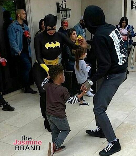 Amber Rose & Wiz Khalifa Throw Son Sebastian Costume Themed B-Day Bash [Photos]
