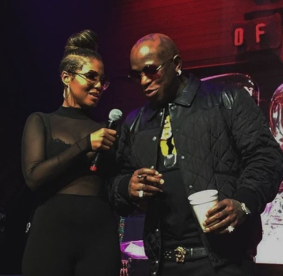 Toni Braxton Celebrates Boyfriend Birdman's Birthday [Video]