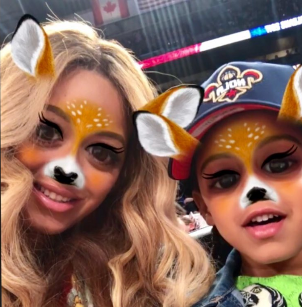 Beyonce Has A Secret Snapchat [Photo]