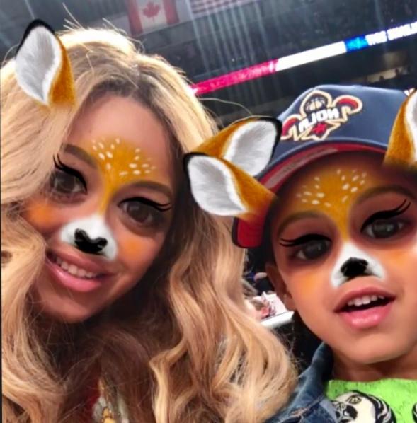 Beyonce Has A Secret Snapchat [Photo]