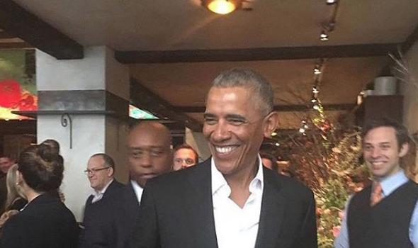 Khloe Kardashian Vacays With Tristan Thompson, Obama Hits Starbucks + Trina & Dave East [Photos]