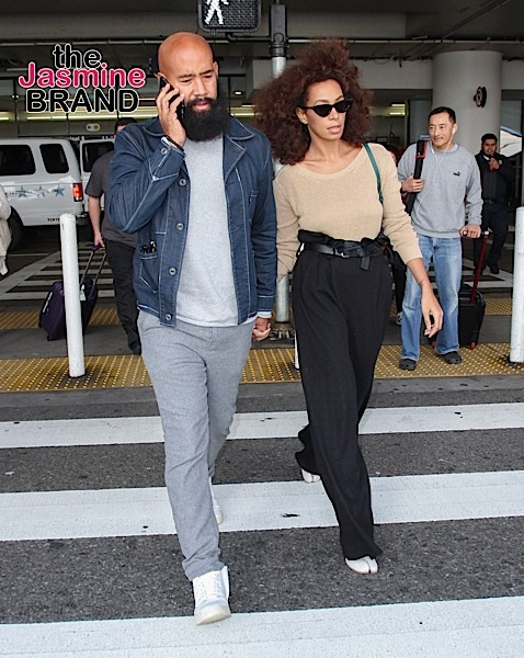 Solange Knowles Announces Separation From Husband, Spotted Getting Extra Close With Mystery Man