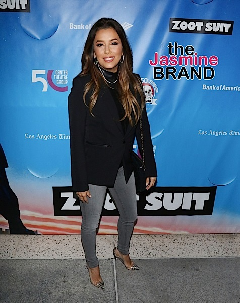 Eva Longoria & Husband Pregnant w/ 1st Child [Ovary Hustlin']
