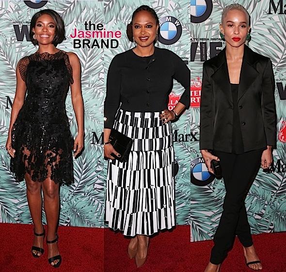 Pre-Oscars Parties! Zoe Saldana, Jurnee Smollett-Bell, Keesha Sharp, Gabrielle Union, Ava DuvernayZoe Kravitz