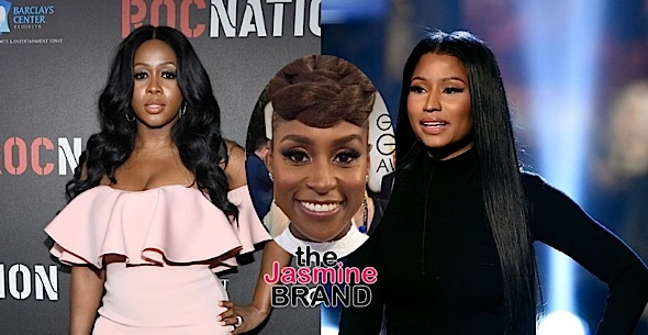Issa Rae Wants Nicki Minaj To Respond To Remy Ma's Diss [VIDEO]