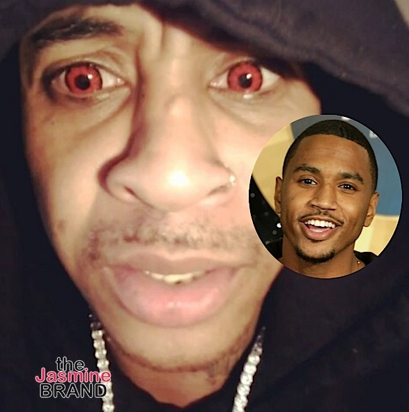 Orlando Brown Insists Trey Songz Is Gay: He's a f@g! [VIDEO]