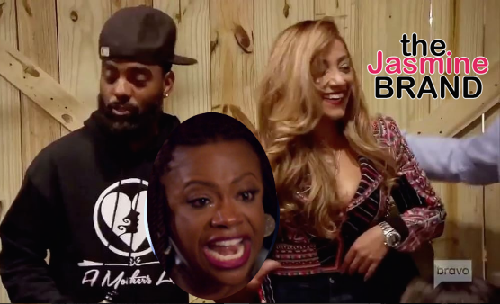 Kandi Burruss Threatens To Choke Porsha Williams + Apollo Nida's Fiancee Appears On RHOA [VIDEO]