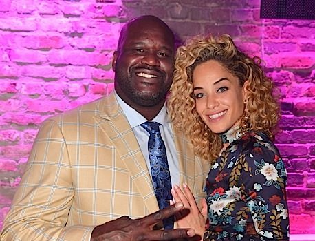 Shaquille O'Neal and Girlfriend Leticia Rolle Split