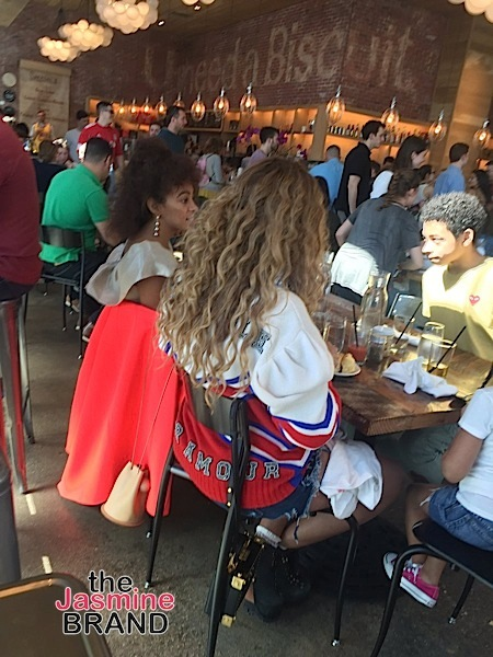 Beyonce, Jay Z & Solange Knowles Spotted In New Orleans