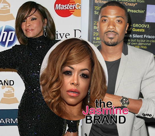 Stacy Francis Admits Fight With Whitney Houston Was Over Ray J: My life was ruined.