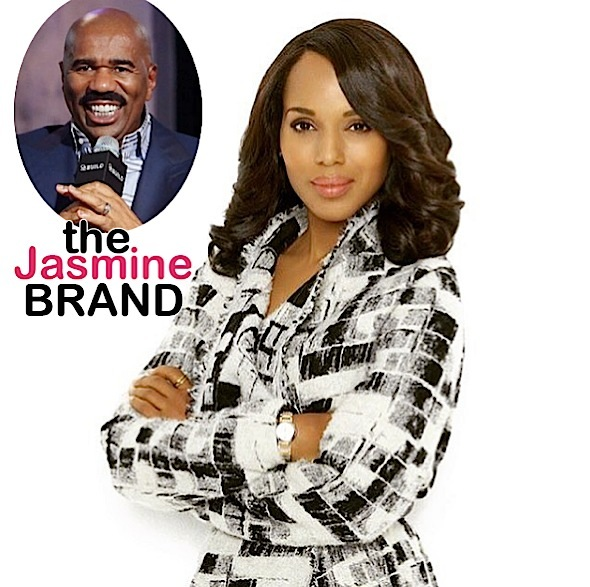 Steve Harvey Hiring Real Life 'Olivia Pope' To Fix Image