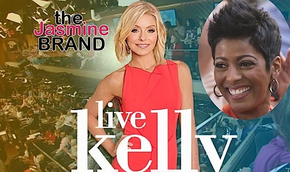 "Tamron Hall May Consider Joining Kelly Ripa's ""Live With Kelly"""