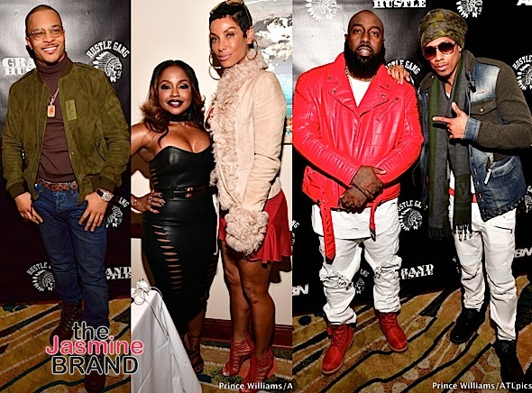 Grand Hustle Dinner: T.I., Phaedra Parks, Nick Cannon, 21 Savage [Photos]