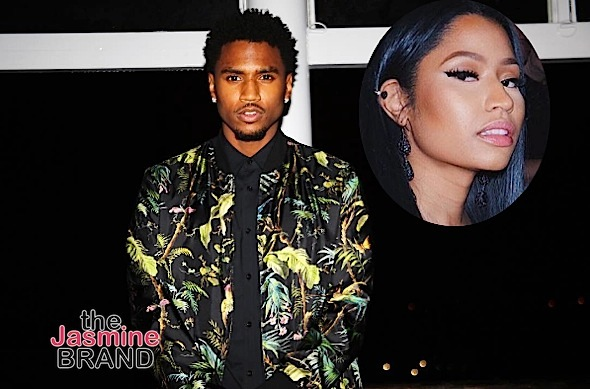 "Trey Songz Felt Disrespected By Nicki Minaj + She Didn't Have Sh*t Before ""Bottoms Up"""