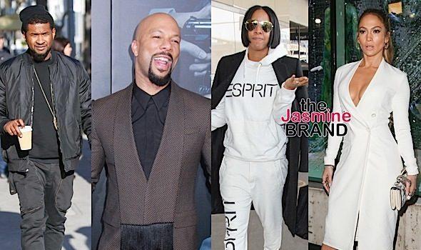 Vanessa Williams, Usher, Common, Kelly Rowland, J.Lo [Celebrity Stalking]