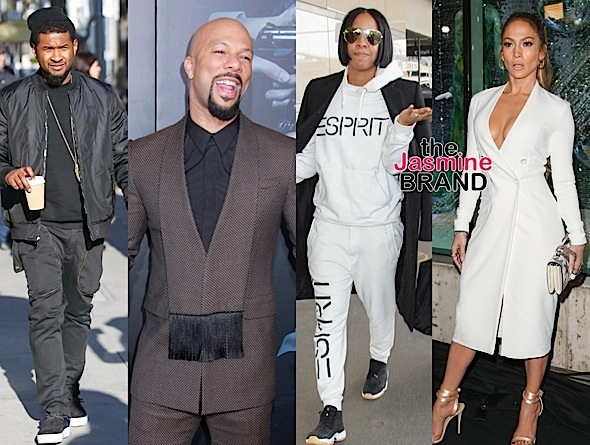 Vanessa Williams, Usher, Common, Kelly Rowland, J.Lo [Celebrity Stalking]