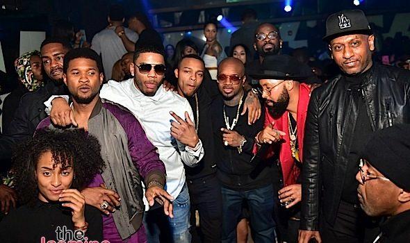 Jermaine Dupri, Keke Palmer, Jim Jones, Bow Wow, Usher Party in ATL [Photos]